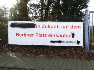 Banner Tennisplatz